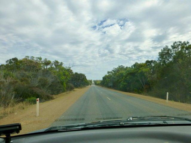 Einsame Straßen in Australien