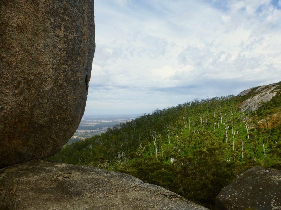 Granitfels im Porongurup Nationalprk